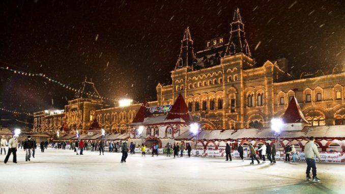 ледовые площадки в москве